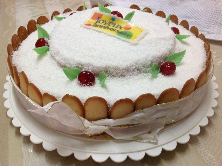 Gâteau mont blanc antillais  Cake Factory  Pinterest
