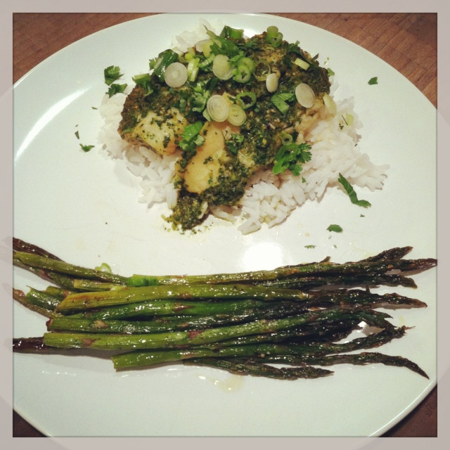 Ginger and Cilantro Baked Tilapia | Favorite Recipes | Pinterest