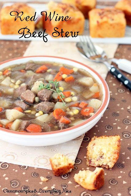 Red Wine Beef Stew... Was so good, although I added my own personal ...