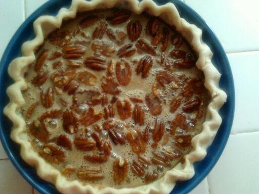 Pecan Pie With Cream Cheese Crust Recipe — Dishmaps