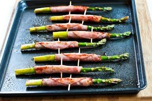 Kalyn's Kitchen®: Recipe for Roasted Asparagus Wrapped in Ham