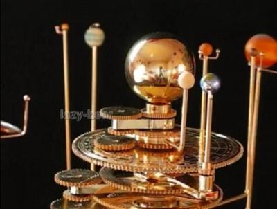 brass solar system model - photo #9