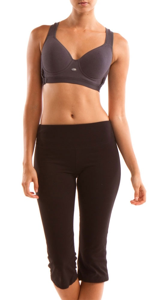 Magic Essential: Smooth Shaping with Uplift Sport Bra, Carbon