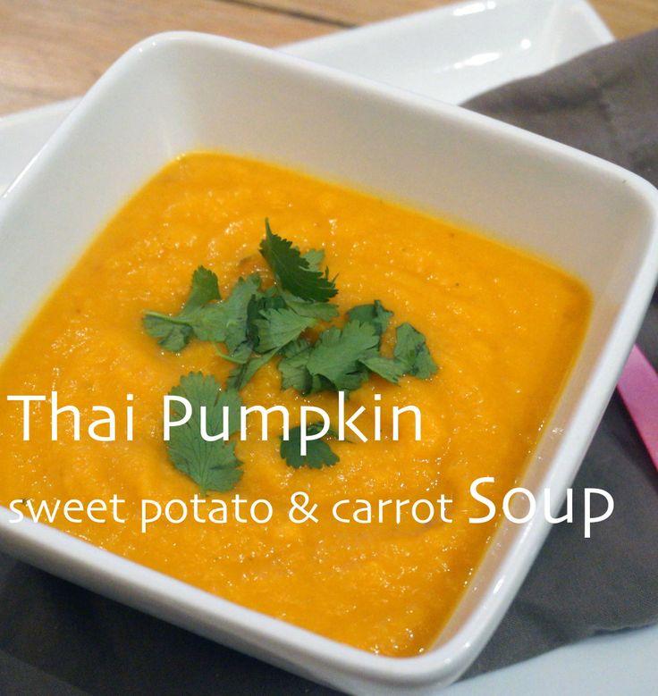 Thai Pumpkin Soup | Healthy Meals | Pinterest