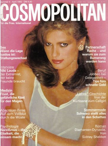 Gia_Carangi_April 1983 German Cosmo Cover.jpg (364×493) | Model+Rebel ...