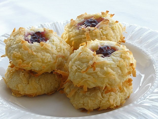 Jam Thumbprints | Food: Cookie Jar | Pinterest