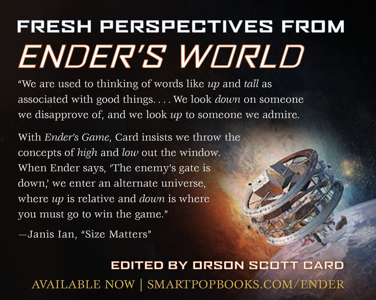 the conflicts in orson scott cards enders game Ender's game by orson scott card essay example the buggers from orson scott cards enders game and subsequent the internal and external conflicts of willy.