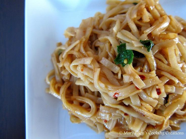 Teriyaki Rice Noodles Recipe — Dishmaps
