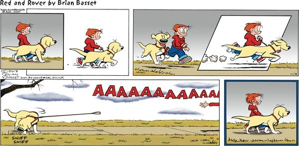 Red and rover comic strip november 03 2013 on gocomics com