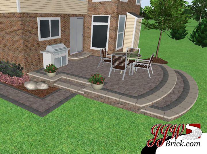 paver patio ideas google search