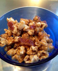 Bacon cashew Caramel popcorn | Food | Pinterest