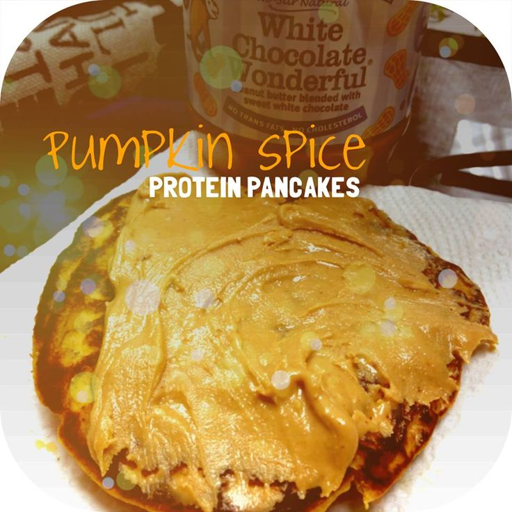 Pumpkin Spice Protein Pancakes! #cleaneating #mealprep #healthy # ...
