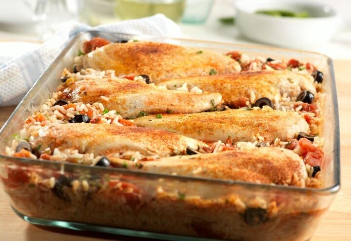 Mediterranean Chicken Bake | Jen...Recipes that look good! | Pinterest