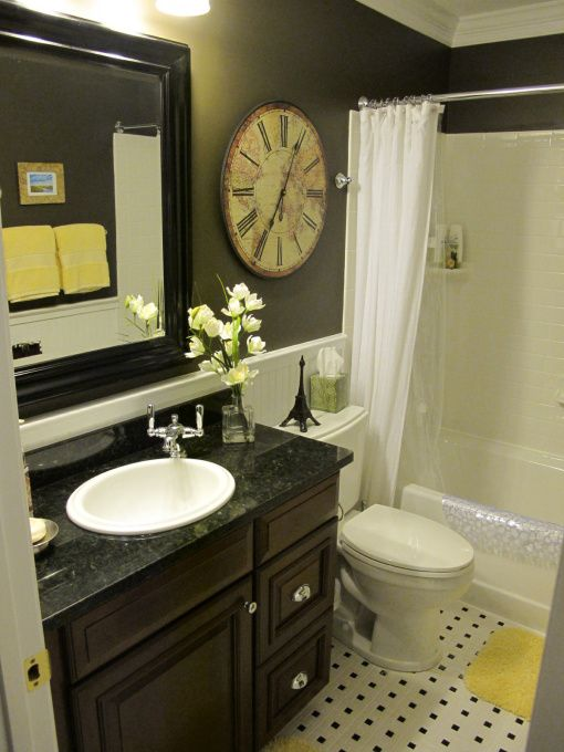 black and yellow bathroom quarter moon rooms pinterest