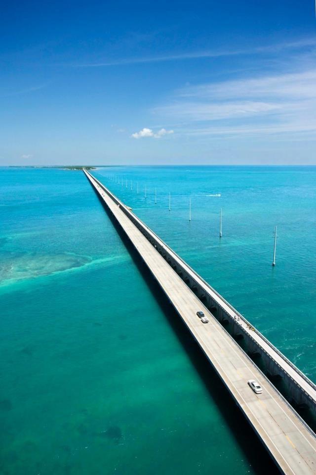 7 mile bridge florida keys scenery pinterest for Florida keys bridge fishing