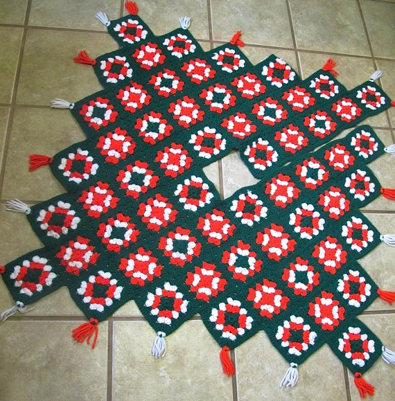 Square Tree Skirt 40