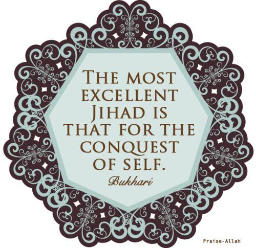 Prophet Muhammad Quote on Jihad