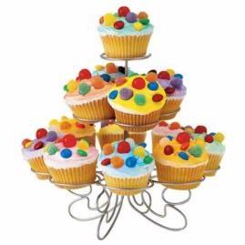 color mist cupcakes