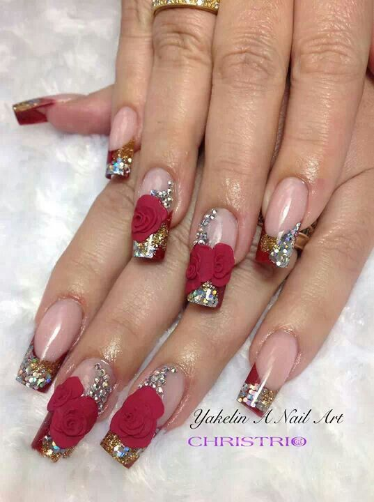 cute valentines day nails tumblr