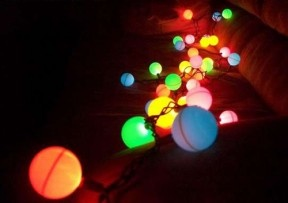 Diy ping pong ball lights upcycle it renew it pinterest - Ping pong christmas lights ...