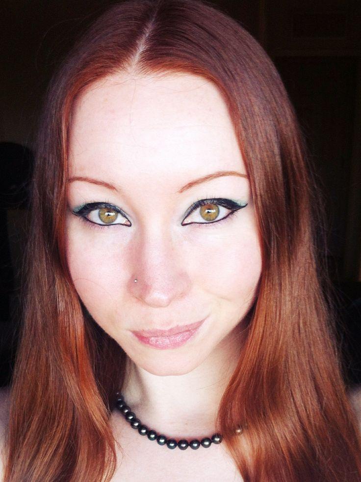 Natural Red Hair And Hazel Eyes