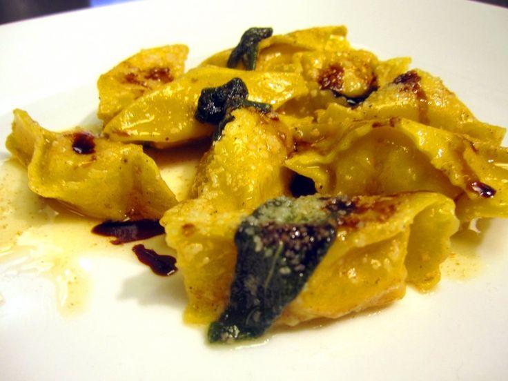 Agnolotti di Zucca Recipe | Pasta, Gnocchi, etc. | Pinterest