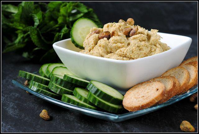 pistachio artichoke hummus   Hors d'Oeuvres   Pinterest