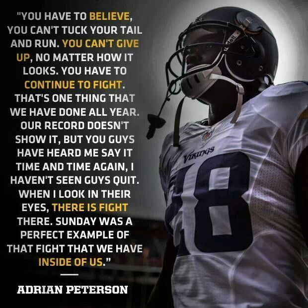 Adrian Peterson Quotes - BrainyQuote