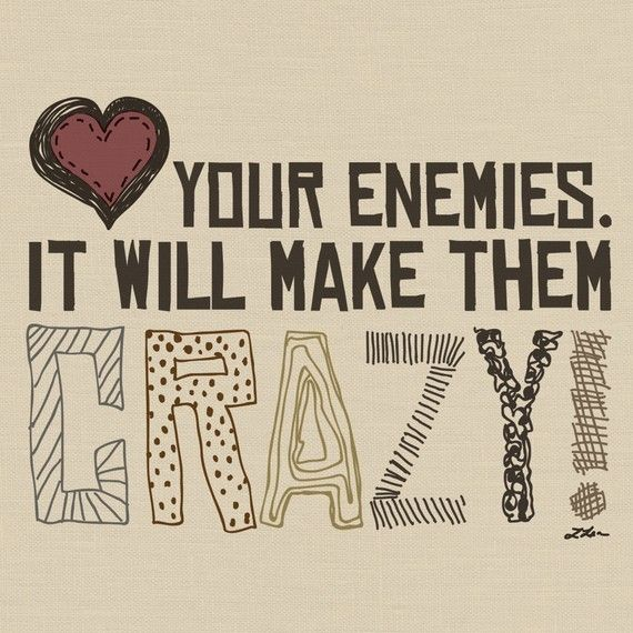 love your enemies craft ideas pinterest