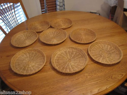 Woven Paper Plate Holders
