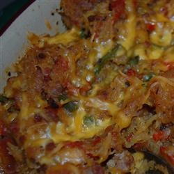 Baked Spaghetti Squash with Beef and Veggies Recipe - Allrecipes.com