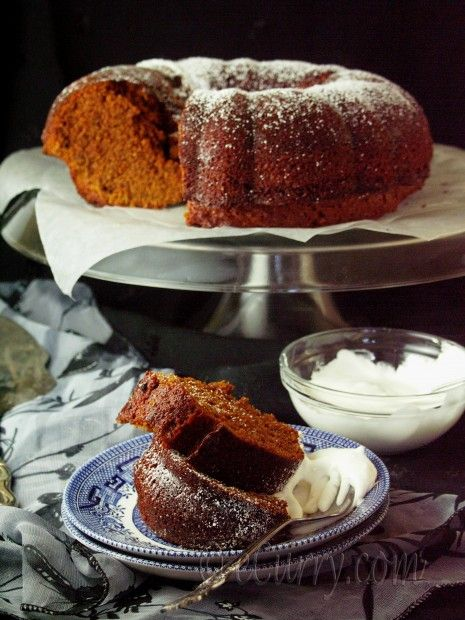 Spiced Ginger Cake | Did Someone Say Cake? | Pinterest