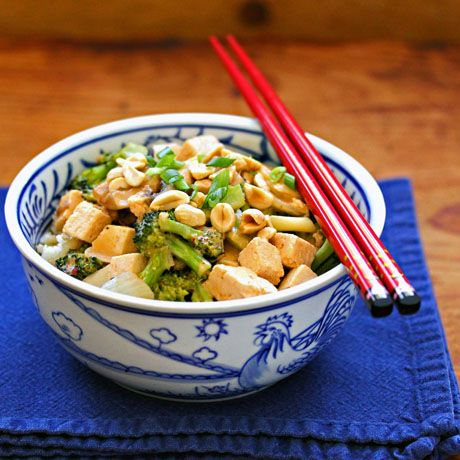 Thai red curry tofu and broccoli | Iron Chef: East Asian | Pinterest