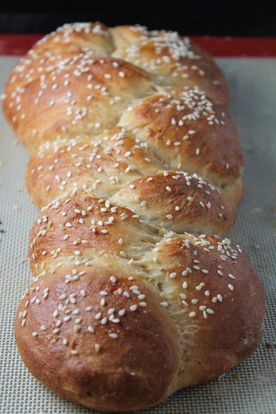 Whole Wheat Challah Bread | Yummy recipes | Pinterest