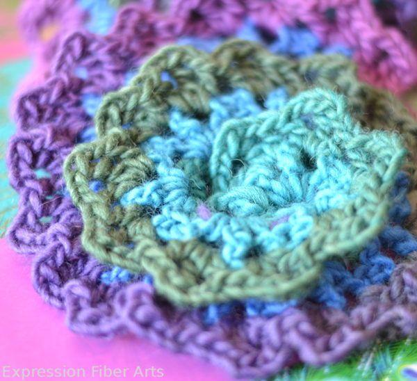 Free Knitting Pattern For Spiral Scarves : spiral crochet scarf tutorial Knitting & Crocheting Pinterest