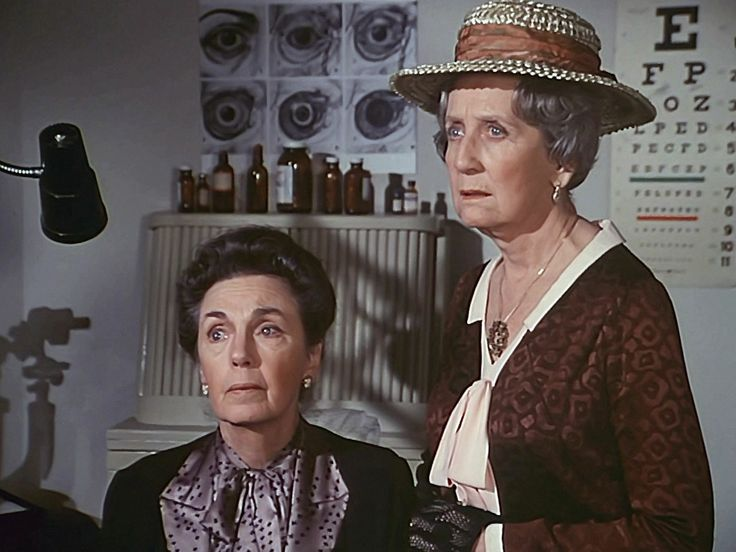 Miss Mamie and Miss Emily Baldwin from The Waltons.