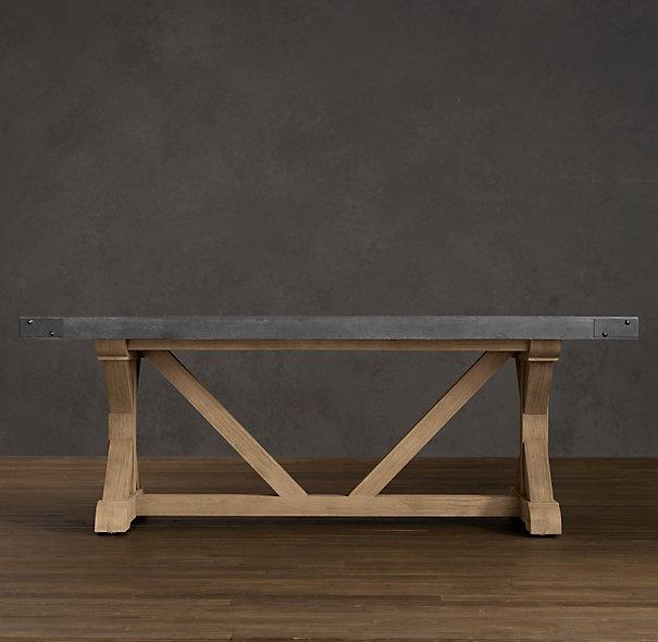 concrete rectangular dining table gp office pinterest