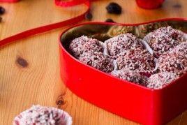 Dark Chocolate Cherry Walnut Truffles   Desserts, Cakes, Candy & Cook ...