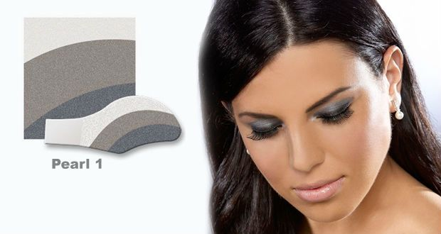 Grey Eyeshadow - Silver Lining Pearl Instant Eye Shadow - Majic Beauty