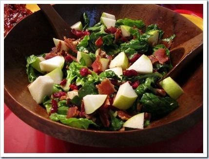 Apple Bacon Cranberry Salad | I'll Have Seconds... | Pinterest