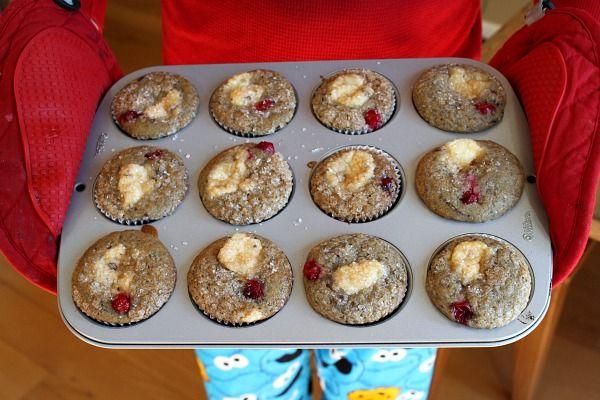 Cranberry Cheesecake Muffins | Recipe