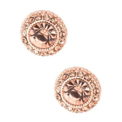 Rose Gold Earrings | 9thandelm.com #newyearseve #nye