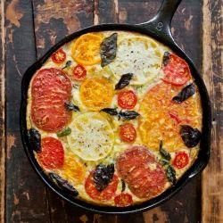 Sausage Basil And Tomato Frittata Recipes — Dishmaps