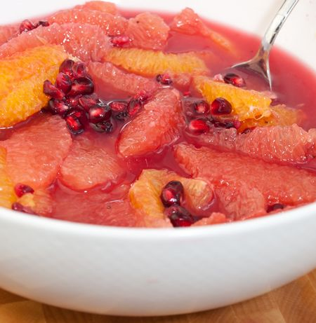 Winter Citrus and Pomegranate Fruit Salad l Once Upon A Chef (add a ...