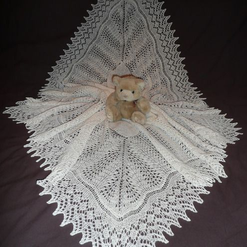 2 Ply Baby Knitting Patterns : 2 PLY BABY SHAWL PATTERNS Free Baby Patterns
