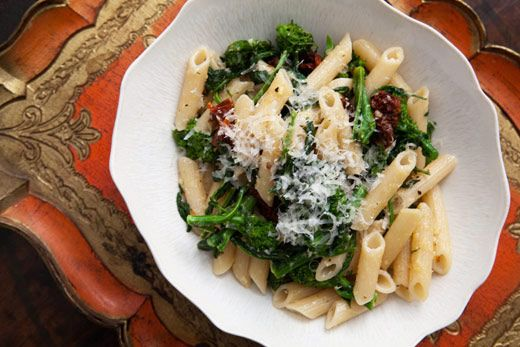 Broccoli Rabe with Pasta and Sun Dried Tomatoes | Recipe