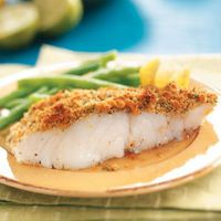 Ritz Cracker Crusted Fish by Anonymous   Entrees   Pinterest