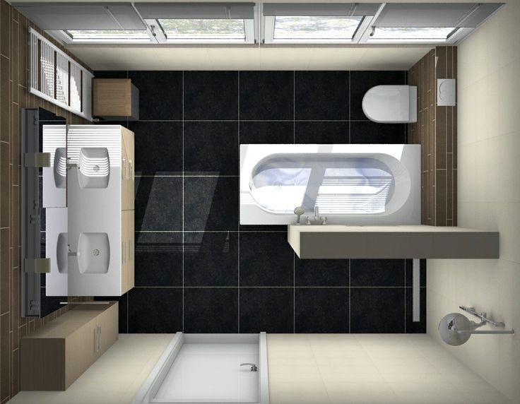 Badkamer ontwerpen bij van wanrooij ook je eigen badkamer for Gratis tekenprogramma interieur