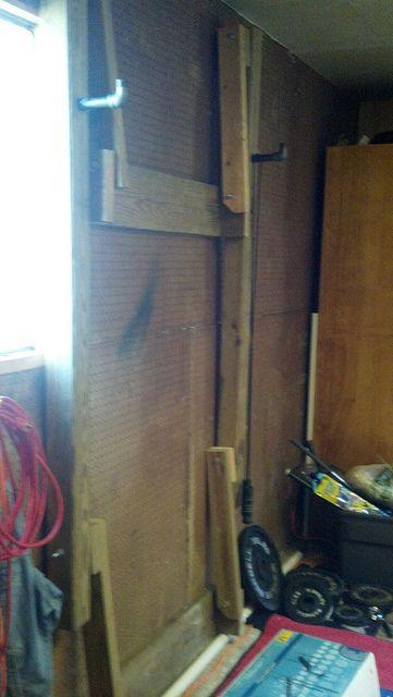 Homemade squat rack car interior design for Diy squat rack metal