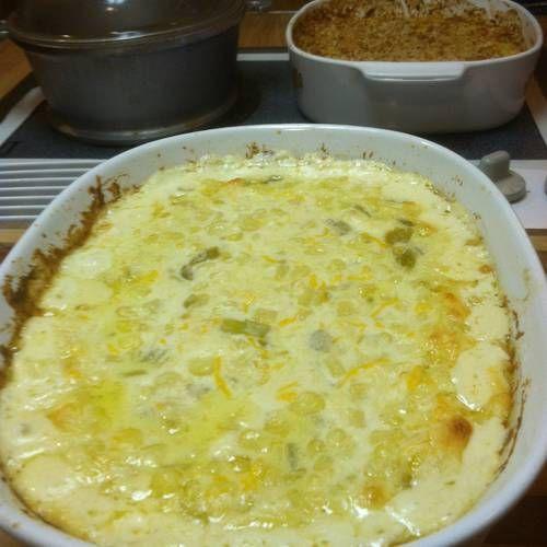 Creamy, Cheesy Corn Casserole | Food | Pinterest